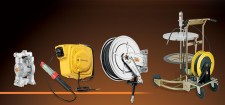 ECODORA Hose Reel-Cable Reel-Diapragm Pumps-Lubrication