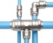 Aluminum pipe for pneumatics, vacuum
