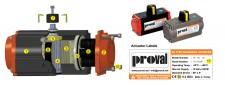 Actuator khí nén series A210